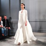 wedding dresses by monique lhullier spring 2014 collection wedding gown with cape