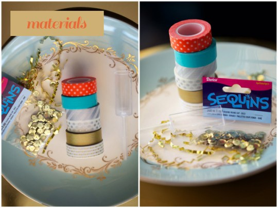 sequin confetti poppers DIY | Oh Lovely Day | photo by Amy Stone