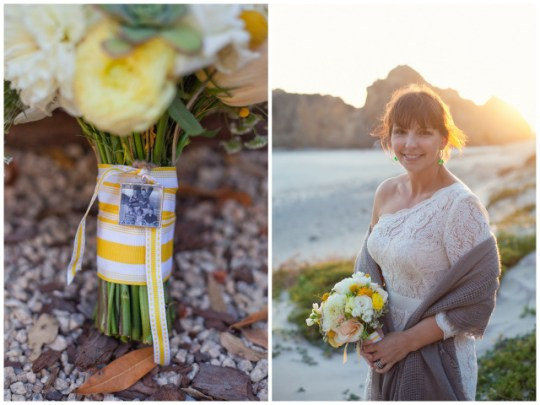 Vow Renewal in Big Sur from Laura Hernandez Photography | Oh Lovely Day