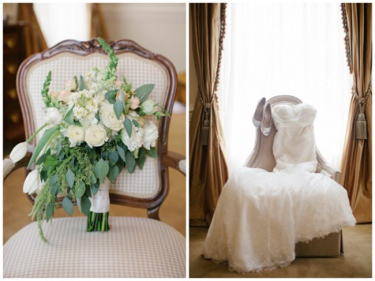 Classic Mint and Peach Wedding | photo by Leslie Hollingsworth | Oh Lovely Day