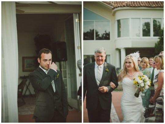 Yellow + Grey Wedding At Home | Chantal Marie Photography | Oh Lovely Day