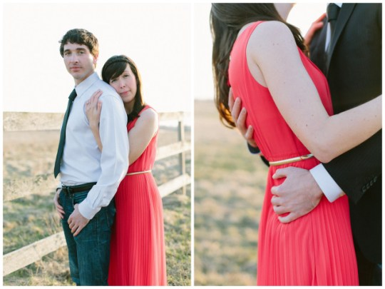 Rustic Glamour Midwest Engagement | Laurelyn Savannah Photography on Oh Lovely Day