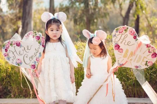 Disney-inspired wedding | Sun & Sparrow Photography | Oh Lovely Day
