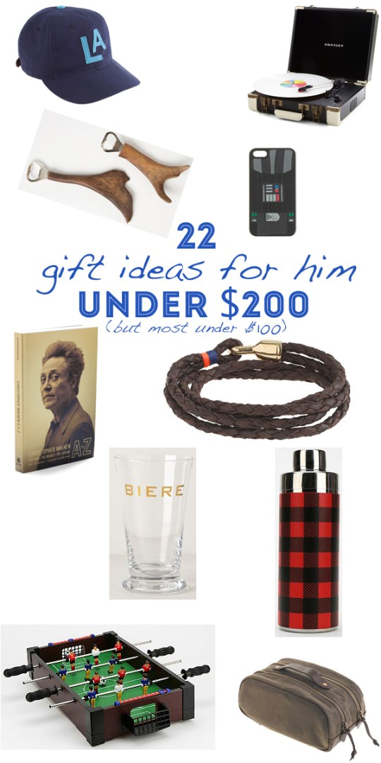 Holiday Gift Guide For Him | 22 gifts any man in your life will love | Oh Lovely Day