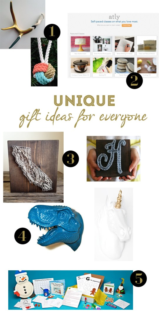 Unique + Thoughtful Gift Ideas for Everyone | Oh Lovely Day