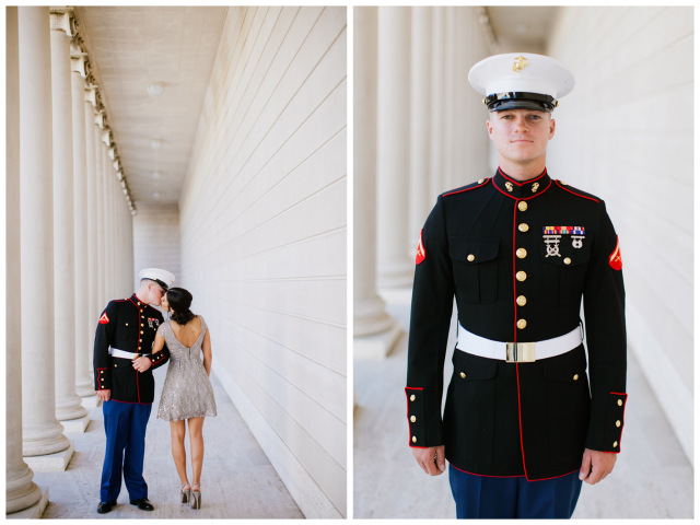 Military Engagement Session in San Fran | Jasmine Lee Photography on Oh Lovely Day