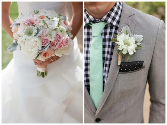 Vintage Mint Wedding | Frenzel Studios on Oh Lovely Day