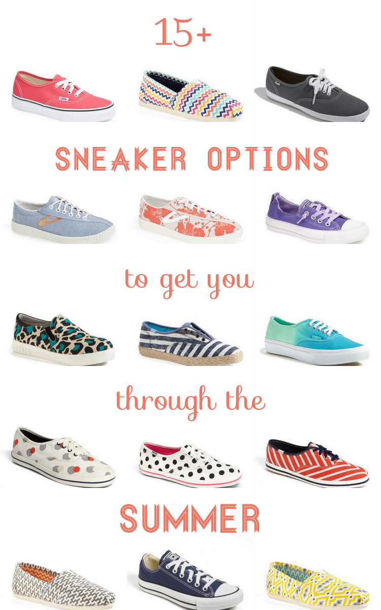 15+ Warm Weather Sneakers Perfect for Summer