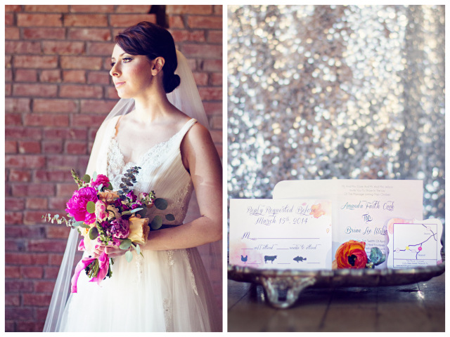 Industrial Glam Wedding Inspiration | Query Events + Whitley Danielle Photography
