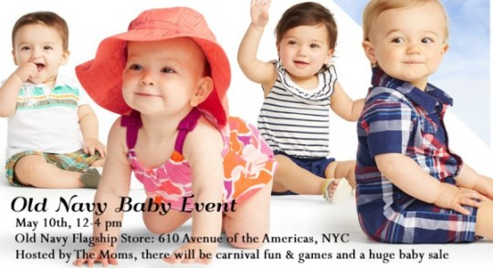 Old Navy baby event