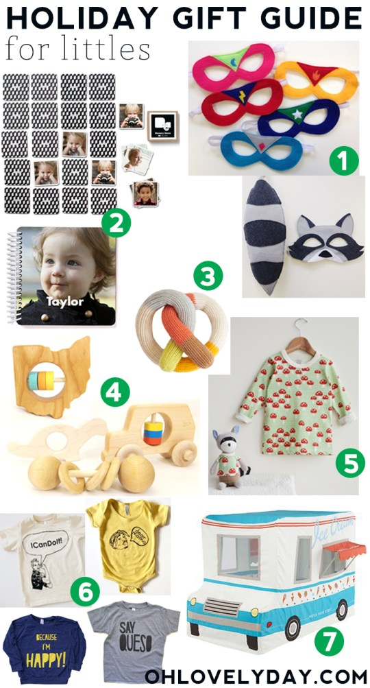 Holiday gift guide for littles | Oh Lovely Day