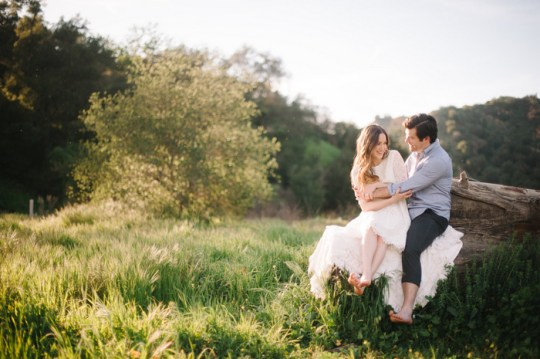 Spring Southern California Engagement | Heidi Ryder Photography on Oh Lovely Day