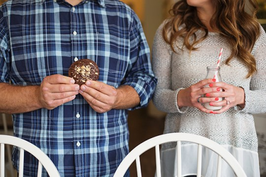 Engagement Session at Milk Jar Cookies | Haley Dennis | Oh Lovely Day