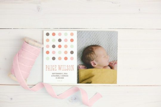 Stationery for your family milestone events with Basic Invite | Oh Lovely Day