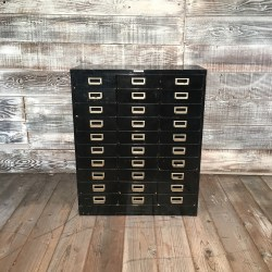 Small Of Card Catalog Cabinet