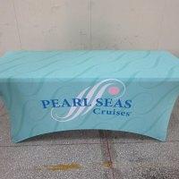 Lycra stretch tablecloth