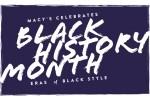 Macy's Black History Month 2014