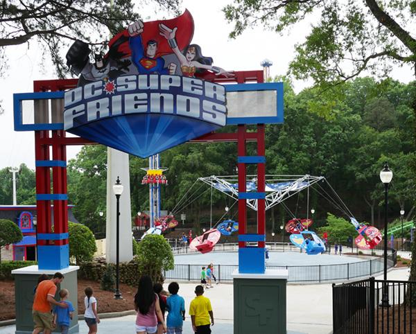 DC Super Friends Six Flags Over Georgia