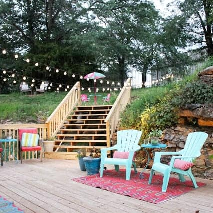 DIY  //  BEFORE & AFTER DECK PROJECT