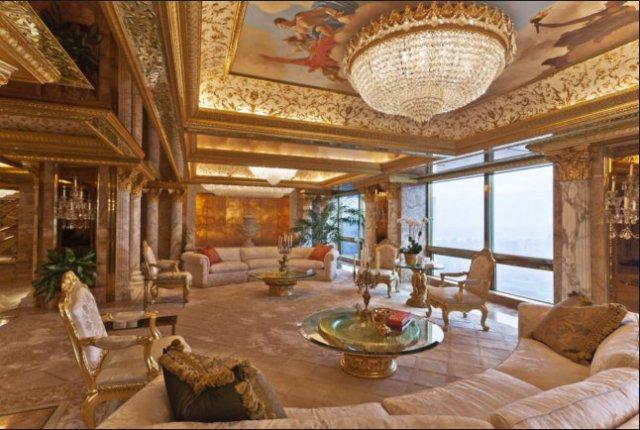 Donald Trump house