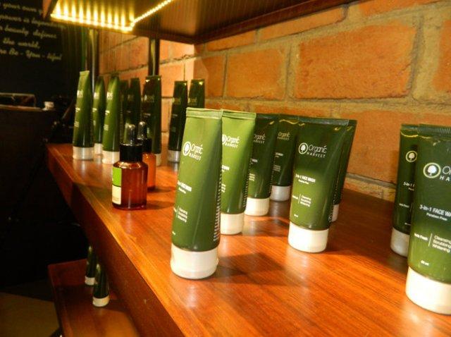 organic harvest natural skin care