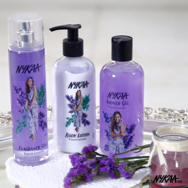 Nykaa bath and body products launch