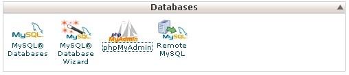 phpmyadmin di cpanel hosting