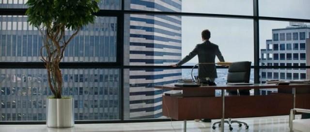 Escena de la película 50 sombras de grey