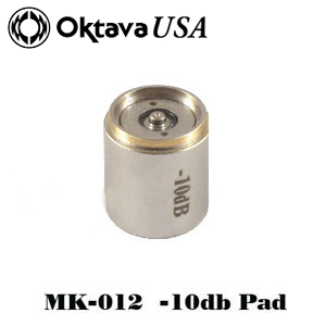 -10dB pad silver