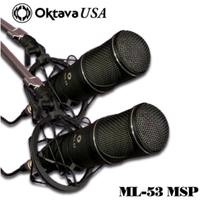 ML-53 Stereo Pair Ribbon Mic