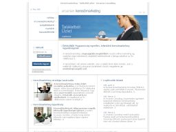 Arcanian Consulting honlapkép