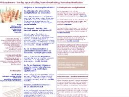 Weboptimum - Hársfa Stúdió Design honlapkép