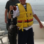 Joey 5lb. sea bass