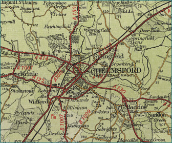 map to chelmsford