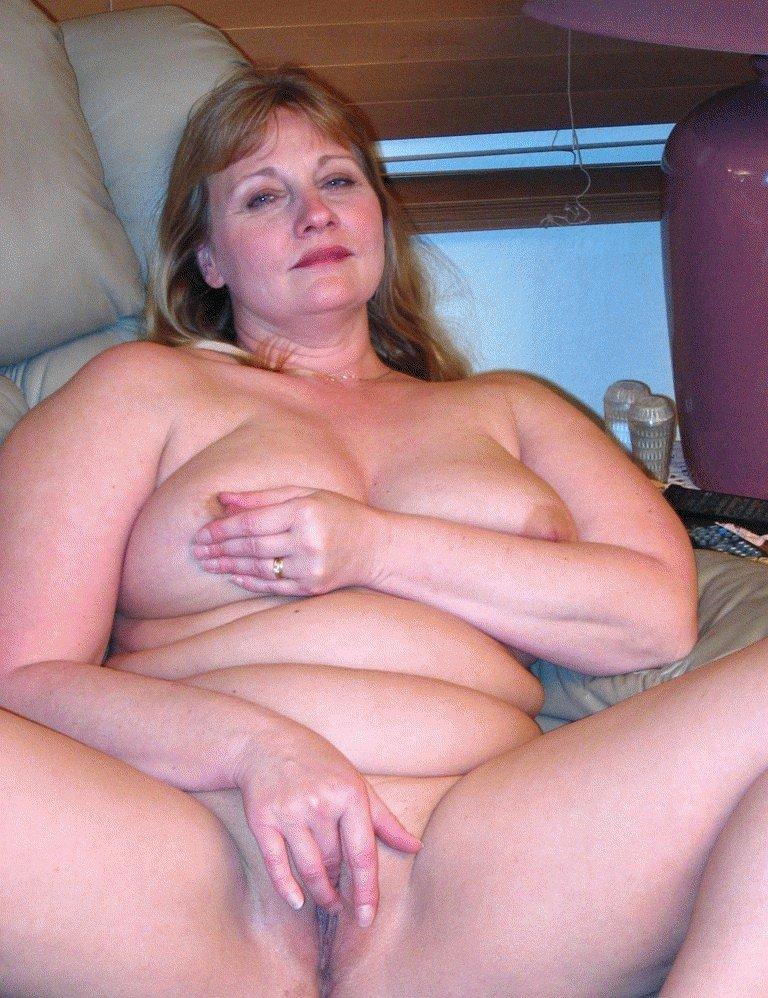 fat granny cellulite ass