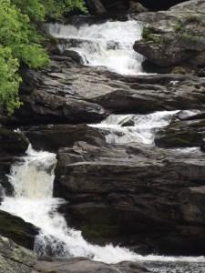 Cullasaja Falls near Franklin, North Carolina