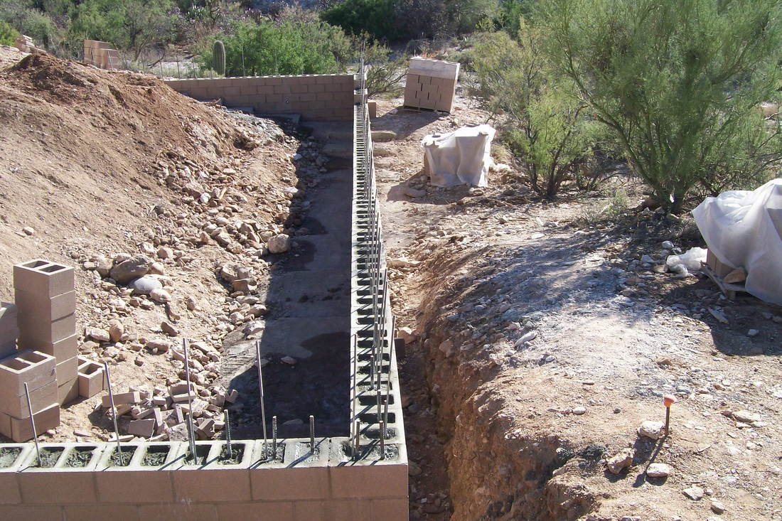 Popular Retaining Wall Footer Rebar Pueblo Masonry News Updates On Fence Replacements Cinder Block Fence Designs Cinder Block Fence Odessa Tx houzz-03 Cinder Block Fence