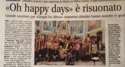 Settegiorni – «Oh happy days» è risuonato in San Vittore