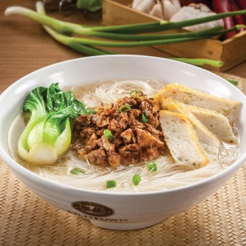 Mehoon Soup with Minced Chicken(Rp34)