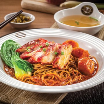 OLDTOWN BBQ Chicken Dry Curry Egg Noodles(Rp42)