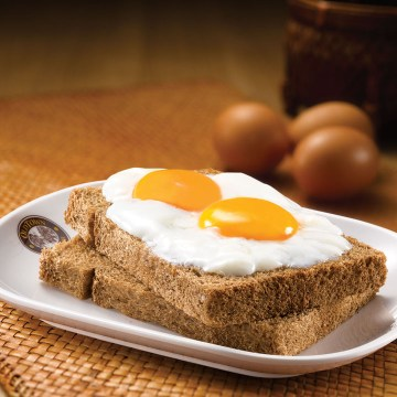 Soft Boiled Egg on Toast(Rp28)