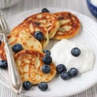 Sirniki (Farmer's Cheese Pancakes)