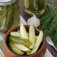 Dill Pickle Spears
