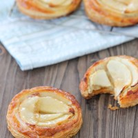 Almond Apple Puff Pastries