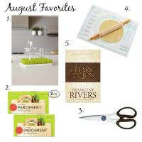A Few Of My Favorite Things - August 2015