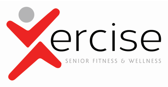 Xercise senior fitness and wellness logo