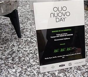 Dégustation Olio Nuovo