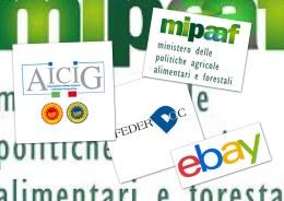 Mipaaf Ebay ICQRF Federdop AICIG
