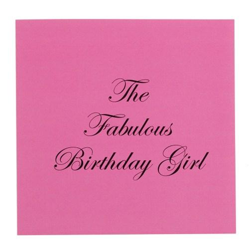 Medium Of Happy Birthday Fabulous