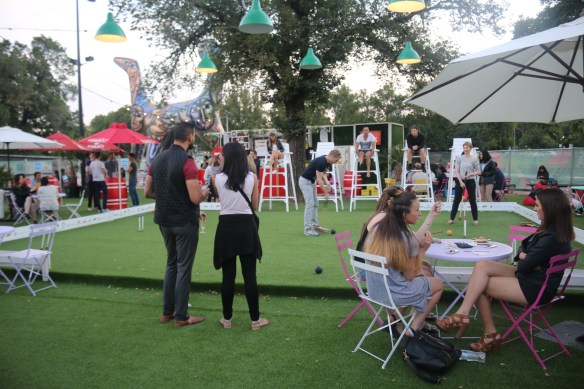 Royal Croquet Club Melbourne 2015 - Croquet